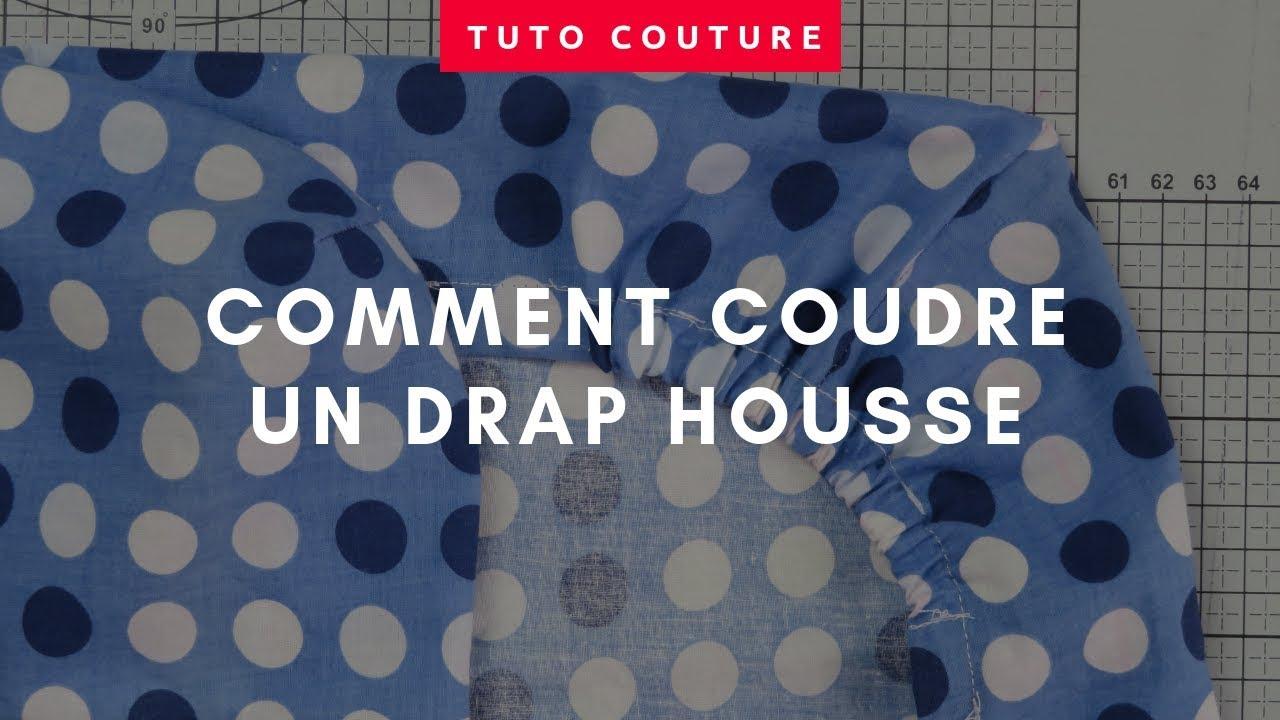 comment coudre un drap housse sur mesure youtube. Black Bedroom Furniture Sets. Home Design Ideas