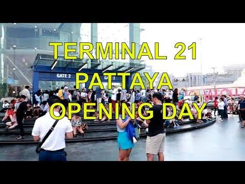 Terminal 21 Pattaya, Opening Day ! Vlog 341