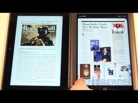 Kindle Fire HD 8.9 vs Nook HD+