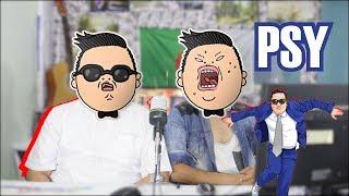 React To PSY ( New Face & I LUV IT ) MV  Algerian version 