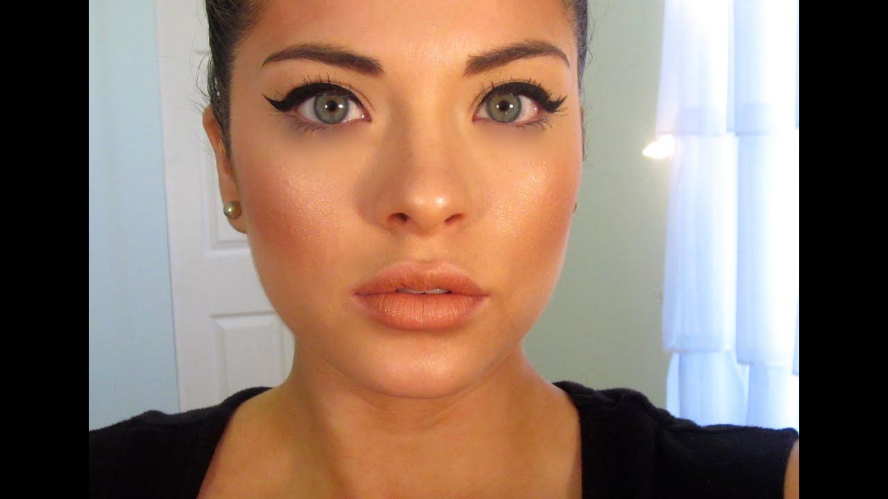 Foundation-Bronzer-Blush-Highlight (DRUGSTORE PRODUCTS) - YouTube