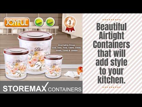 Joyful Storemax Containers