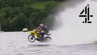 Hydroplaning Bike | Speed With Guy Martin (s1-ep2) | Channel 4