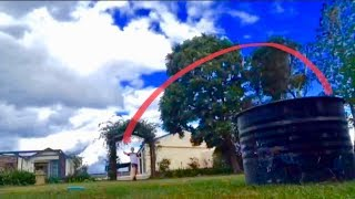FRISBEE TRICK SHOTS l Out Of This World