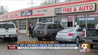 ATF and police raid Roselawn businesses