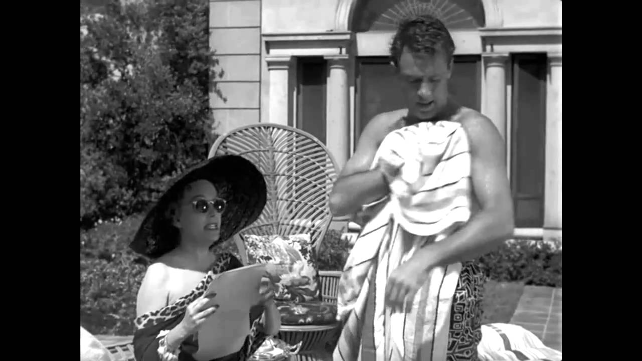 William Holden In Quot Sunset Boulevard Quot 1950 Youtube