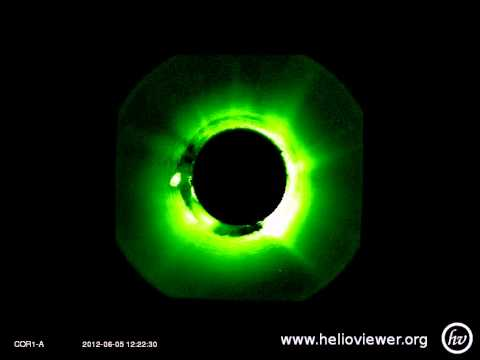 The normal light reflex.(2012-06-05 11:50:00 - 2012-06-05 12:45:00 UTC)