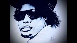 Eazy-E speed drawing