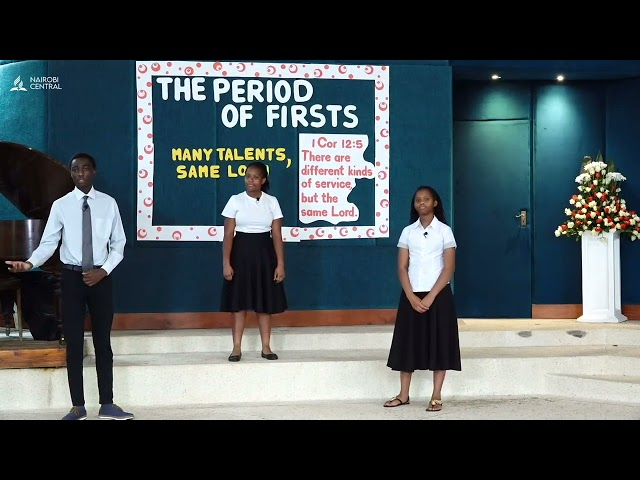 #1 Many Talents One Lord | The Period of Firsts