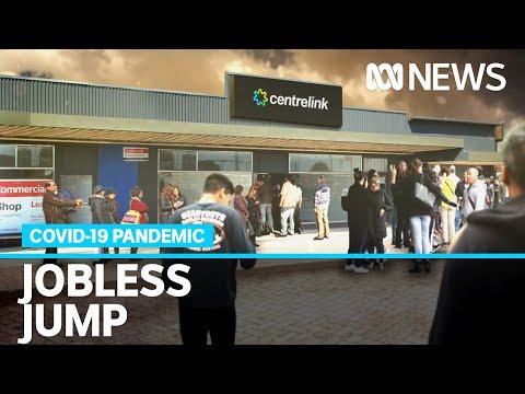 Australia's unemployment rate soars above 7 per cent amid coronavirus pandemic | ABC News