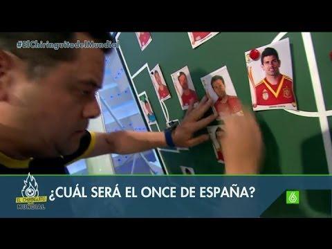 Mundial 2014   España - Chile - Los cambios, de Vicente del Bosque, en la alineación de España