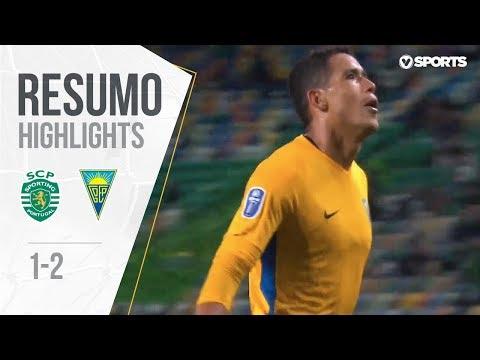 Highlights | Resumo: Sporting 1-2 Estoril (Allianz Cup #2)