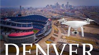 Dji phantom 4 best drone ever/Downtown Denver