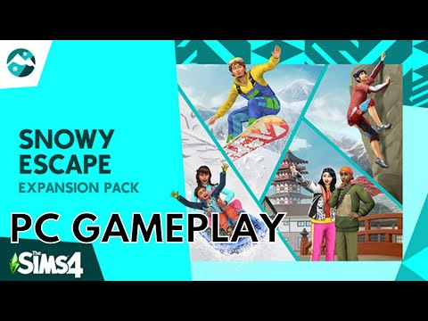 The Sims™ 4 Snowy Escape Expansion Pack | PC Gameplay |