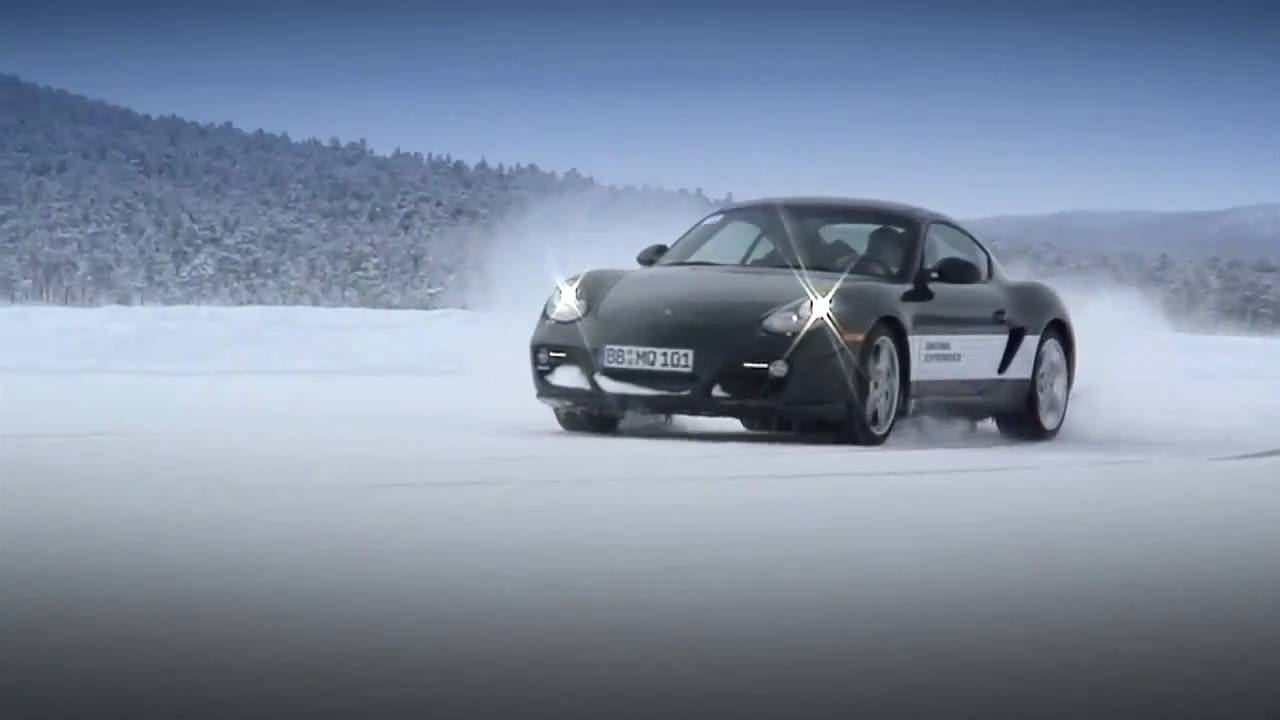 porsche winter driving ice force youtube. Black Bedroom Furniture Sets. Home Design Ideas