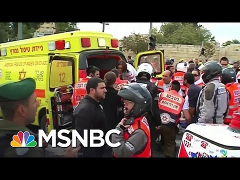 Video Shows Deadly Truck Attack in Jerusalem | MSNBC