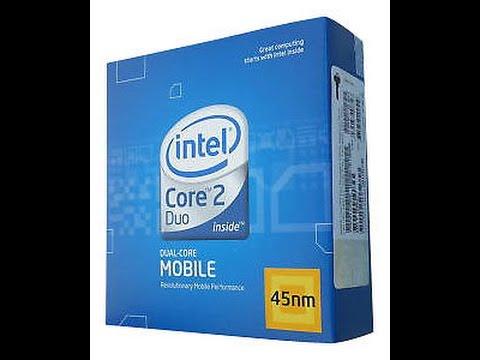 Замена процессора в ноутбуке! Intel Core2 Duo T9600 VS Intel Pentium T4400