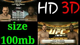 Game UFC HD best game of psp android | Size 100mb