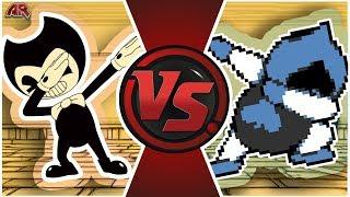 BENDY vs LANCER! (Bendy & The Ink Machine vs Deltarune Animation)   Cartoon Fight Club Episode 302