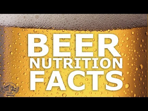 Beer Nutrition Facts || GET TO KNOW || Castle Malting TV