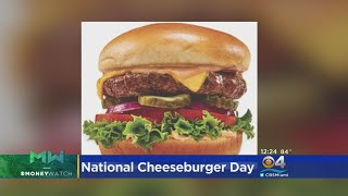 It's National Cheeseburger Day