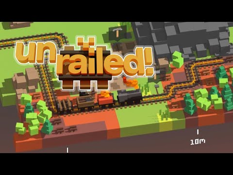 THIS GAME IS HECTIC | Unrailed |