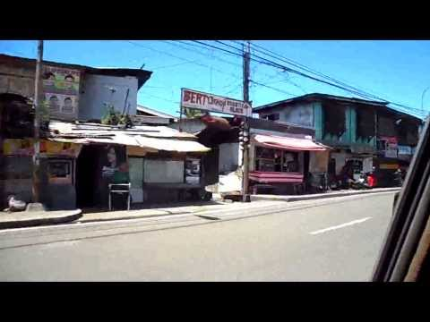 Driving Down Pan-Philippine Highway In Zamboanga City