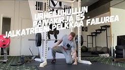 Urheiluhullun päiväkirja E5 - Failure leg workout!