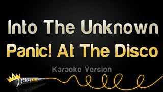 Gambar cover Panic! At The Disco - Into The Unknown (Karaoke Version)