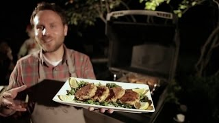 Little Griddle 'after Dark' Presents Crab Cakes Outdoors