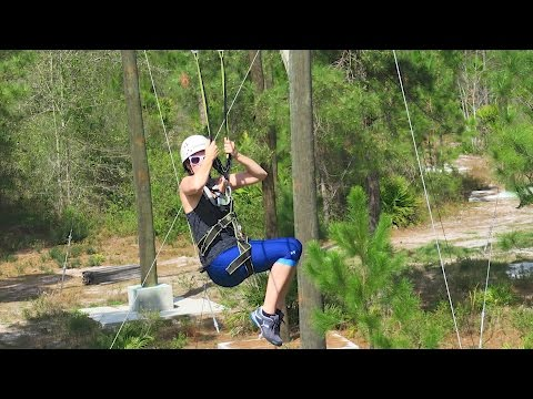 Ziplining in North Florida: Cable Junction