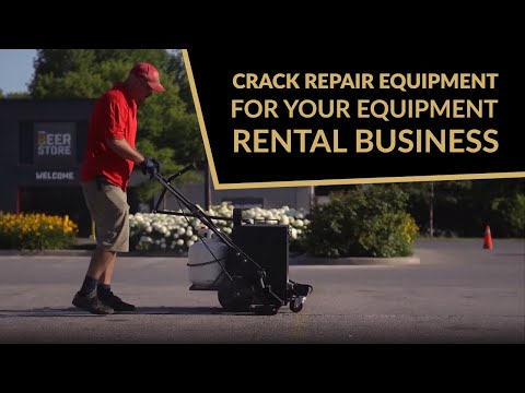 Crack Repair Equipment For Your Equipment Rental Business