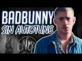 BAD BUNNY 🐰 | VOZ REAL SIN AUTO-TUNE 😱 | Nicolás Barbosa