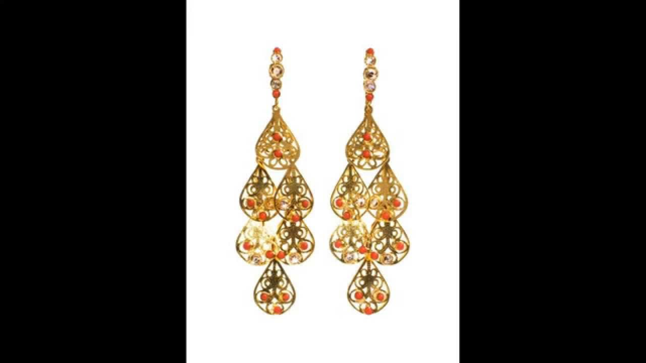 Most beautiful earrings in the world - YouTube