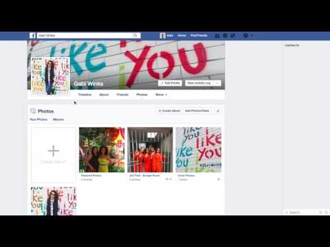 How to create photo album on facebook without posting