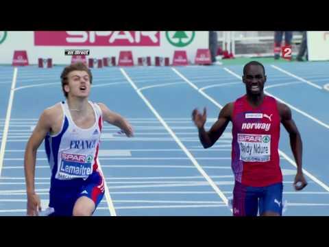 Championnats D'Europe D'athlétisme 2010, Finale 200m Homme - HD