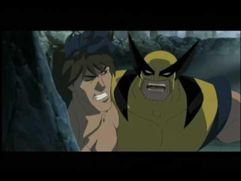 Hulk VS Animated Movie: Wolverine Vs Emo Banner - YouTube