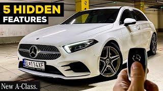 5 HIDDEN MERCEDES FEATURES TRICKS TIPS You Haven't Heard About! 2020 A CLASS