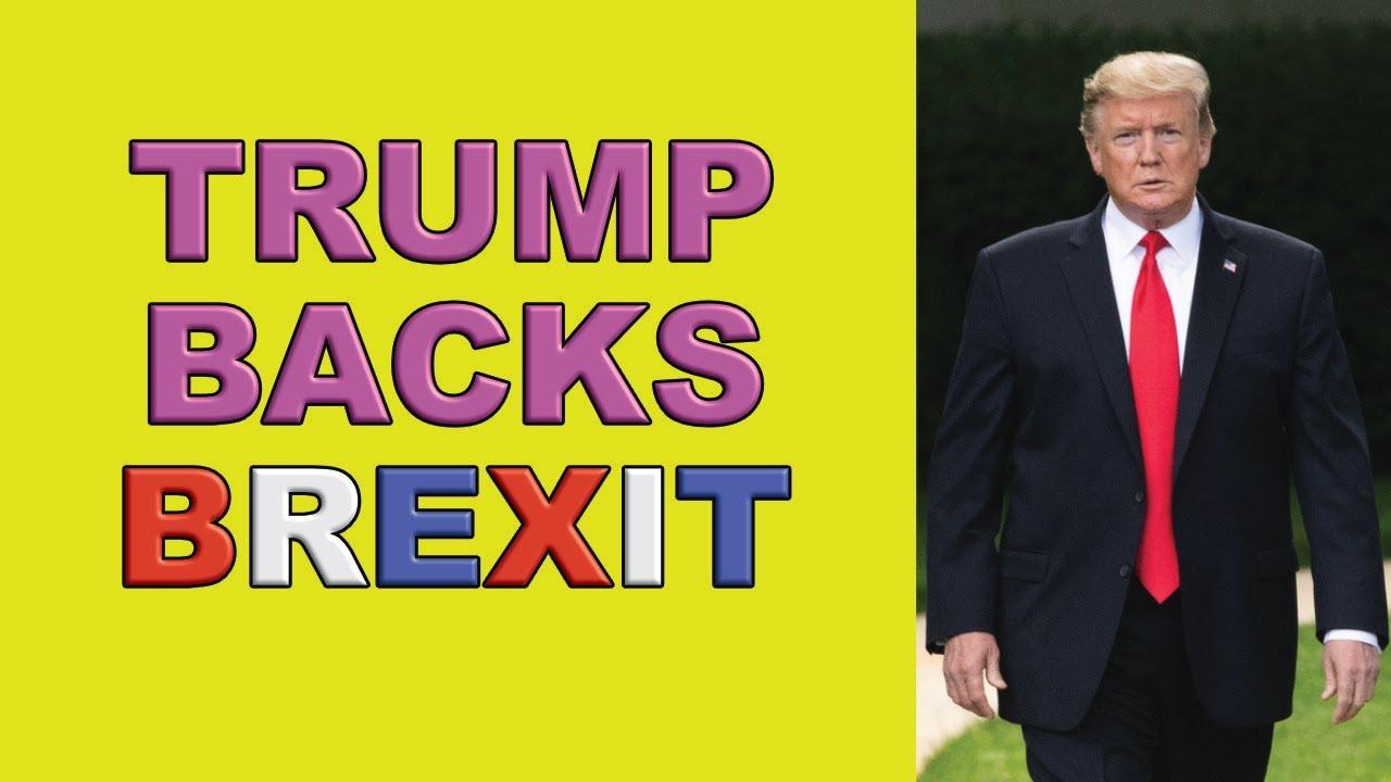 trump brexit trade deal