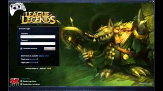 League of Legends Login Twitch