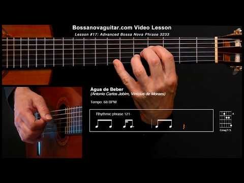 Água de Beber (Water to Drink) - Bossa Nova Guitar Lesson #17: Advanced Phrase 3233
