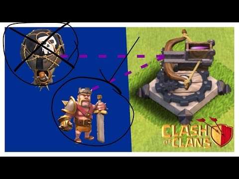 HOW?!?!? Clash Of Clans X-Bow Glitch Ground Shoots Air!