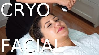 Freezing Our Skin - We Try A Cryo Facial!