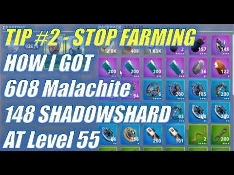 Tips 2 Malachite & Shadowshard Stop Farming