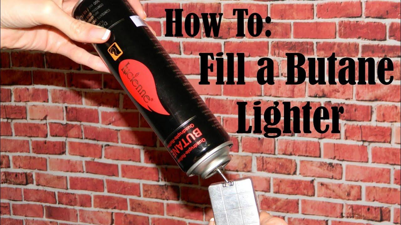 How to Fill a Butane Lighter