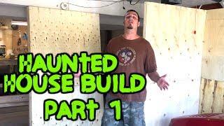 Garage Haunt Build - Part 1