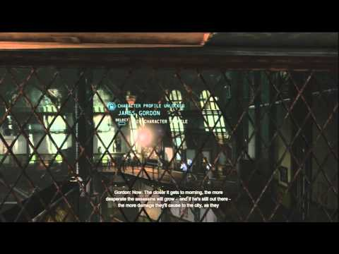 Batman Arkham Origins Walkthrough Part 7: Gotham City Police Department (Getting Disruptor)