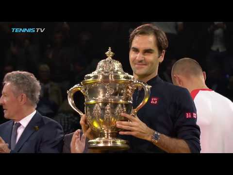 Federer Wins Career Title No.99 | Basel 2018 Final Highlights