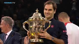 Federer Wins Career Title No.99 | Basel 2018 Final Highlights