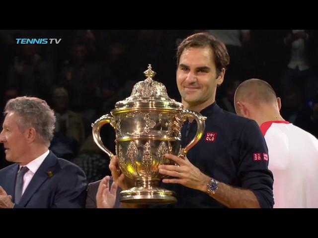 Federer Wins Career Title No.99   Basel 2018 Final Highlights